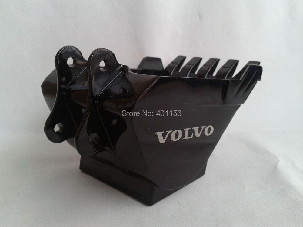 1:12 VOLVO Metal BUCKET toy, (Scale Model Truck, Construction vehicles Scale Model, Alloy Toy Car, Diecast Scale Model Car, Collectible Model Car, Miniature Collection Die cast Toy Vehicles Gifts).