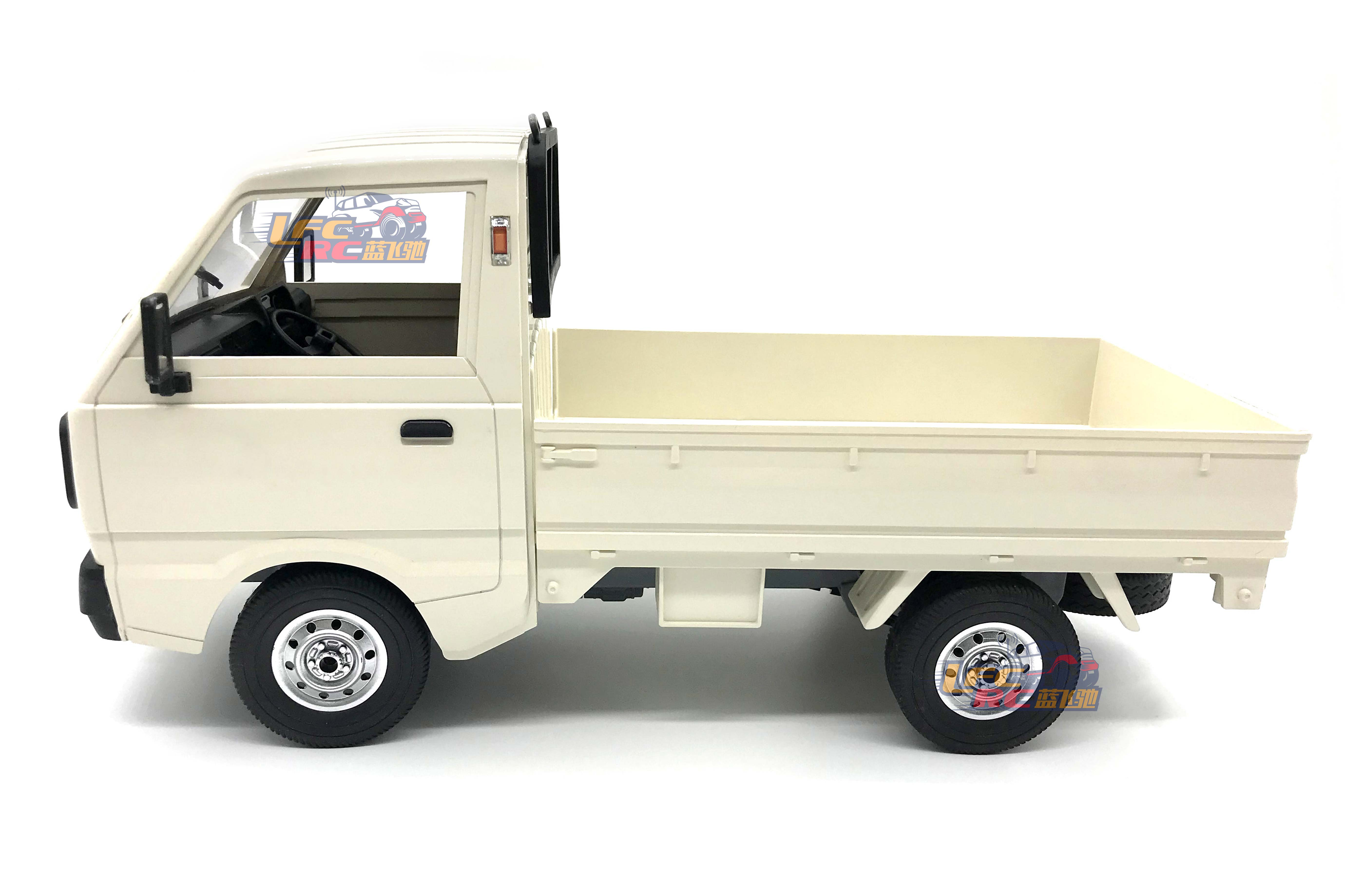 WPL D12 1/10 4WD RC Car, Simulation Drift Truck, On-road RC Car, 2.4G 2WD Military Truck Crawler Off Road RC Car, Vehicle Models Toy.