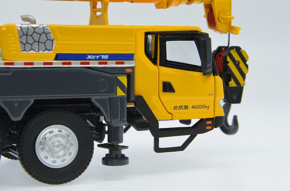 1:50 XCMG XCT75 Truck Crane toy, (Scale Model Truck, Construction vehicles Scale Model, Alloy Toy Car, Diecast Scale Model Car, Collectible Model Car, Miniature Collection Die cast Toy Vehicles Gifts).