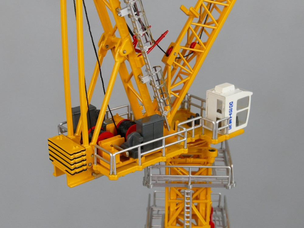 1:100 XCMG XGTL 180 Tower Crane toy, (Scale Model Truck, Construction vehicles Scale Model, Alloy Toy Car, Diecast Scale Model Car, Collectible Model Car, Miniature Collection Die cast Toy Vehicles Gifts).