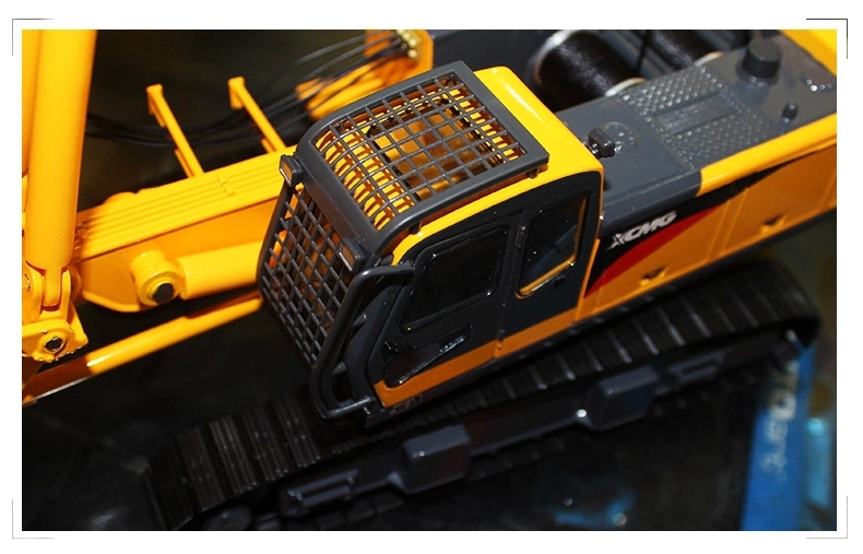 1:35 XCMG XR220 Viper Blast Hole Drill toy, (Scale Model Truck, Construction vehicles Scale Model, Alloy Toy Car, Diecast Scale Model Car, Collectible Model Car, Miniature Collection Die cast Toy Vehicles Gifts).