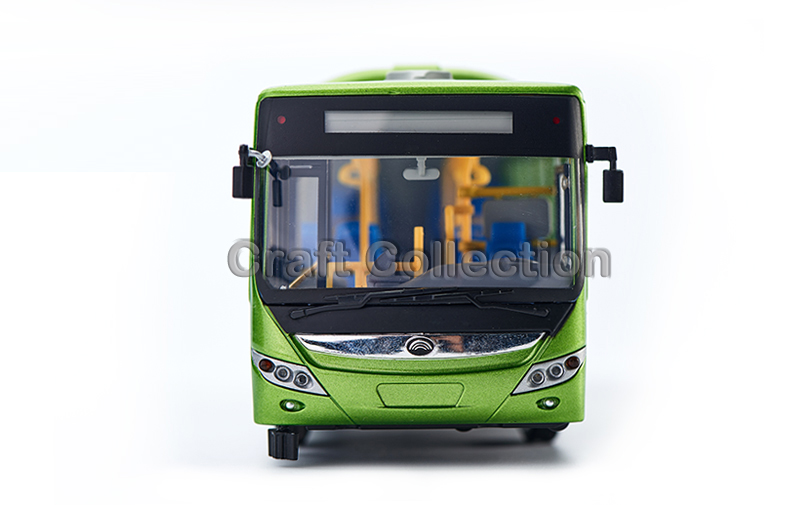 1/42 Yutong E12 HEV City Bus ZK6120R41 Alloy Toy Car, Diecast Scale Model Car, Collectible Model Car, Miniature Collection Die-cast Toy Vehicles Gifts