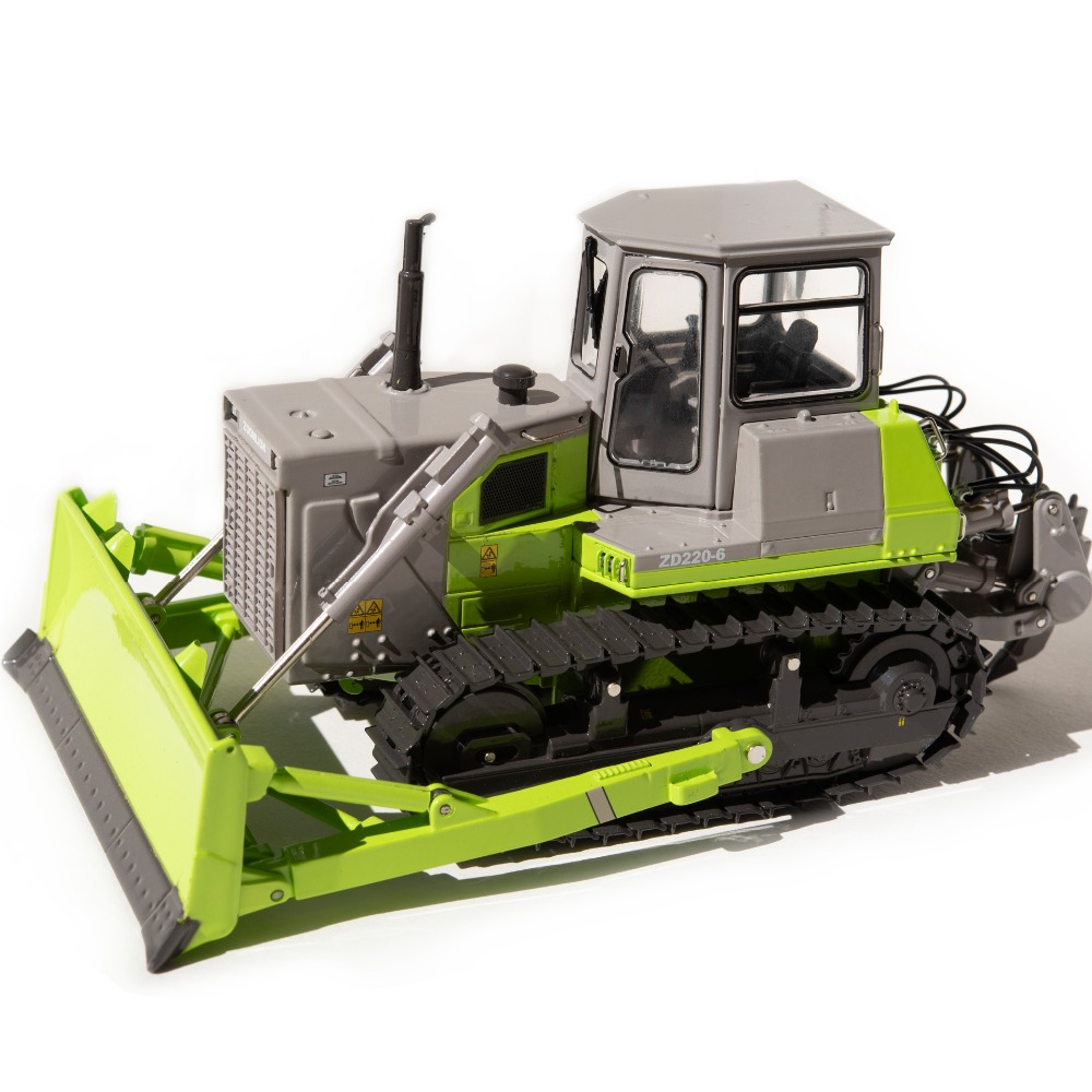 1:35 ZOOMLION ZD220-6 Bulldozer toy, (Scale Model Truck, Construction vehicles Scale Model, Alloy Toy Car, Diecast Scale Model Car, Collectible Model Car, Miniature Collection Die cast Toy Vehicles Gifts).