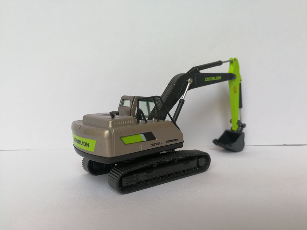 1:87 Zoomlion ZE210 GLC Crawler EXCAVATOR toy, (Scale Model Truck, Construction vehicles Scale Model, Alloy Toy Car, Diecast Scale Model Car, Collectible Model Car, Miniature Collection Die cast Toy Vehicles Gifts).