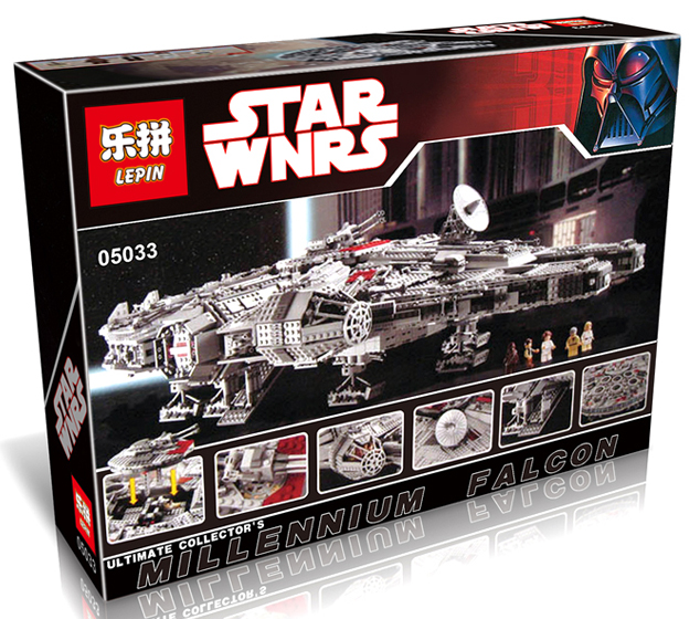 5265+ PCS Building Bricks, LP 05033 Building Blocks 10179 Star Wars UCS Millennium Falcon.