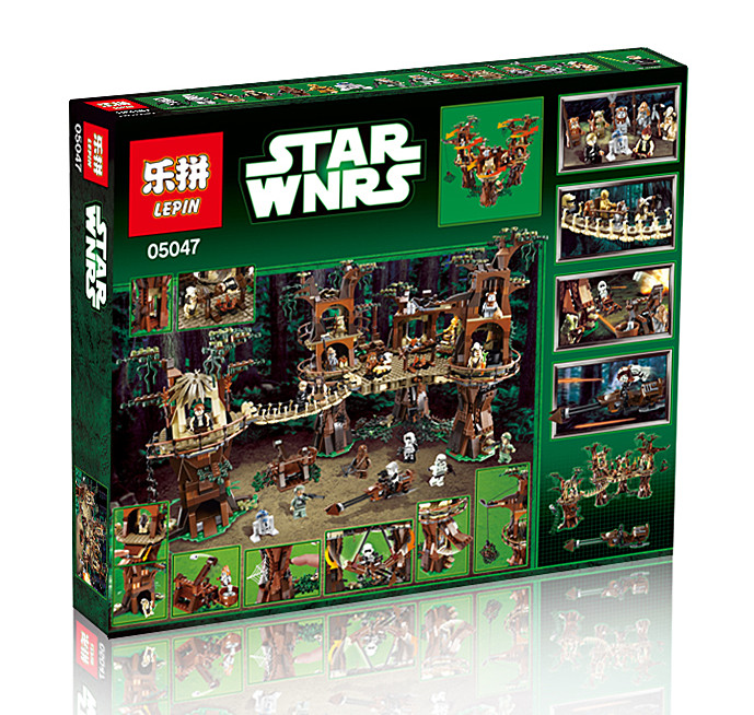 2067+ PCS Building Bricks, LP 05037 Building Blocks 75060 Star Wars Slave I.