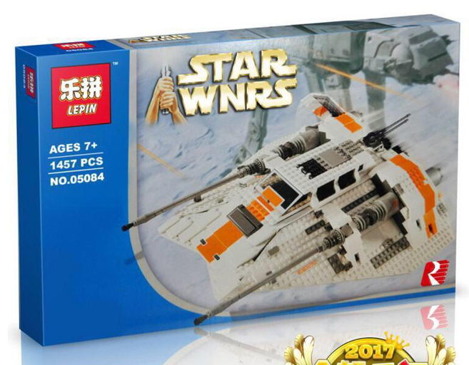 1457+ PCS Building Bricks, LP 05084 Building Blocks 75144 Star Wars Snowspeeder.