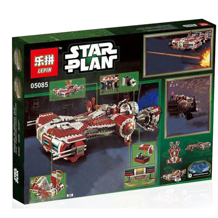 957+ PCS Building Bricks, LP 05085 Building Blocks 75025 Star Wars Jedi Defender Class Cruiser.