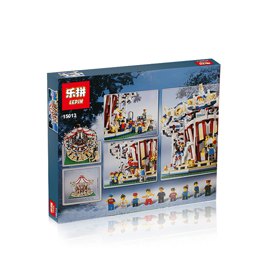 3263+ PCS Building Bricks, LP 15013 Building Blocks Creator 10196 Grand Carousel.