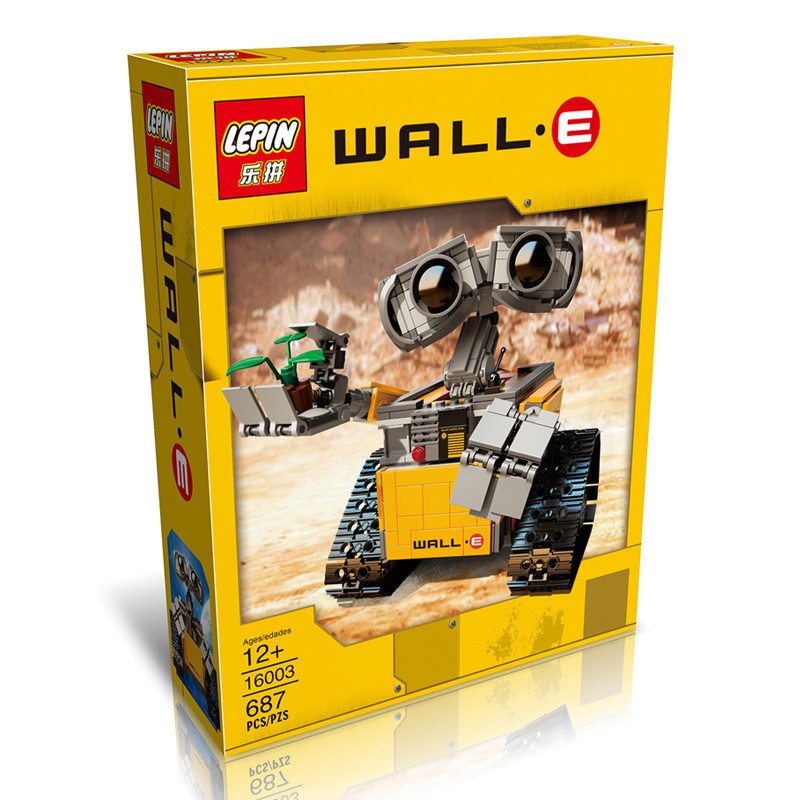 687+ PCS Building Bricks, LP 16003 Building Blocks Ideas 21303 Wall-E.