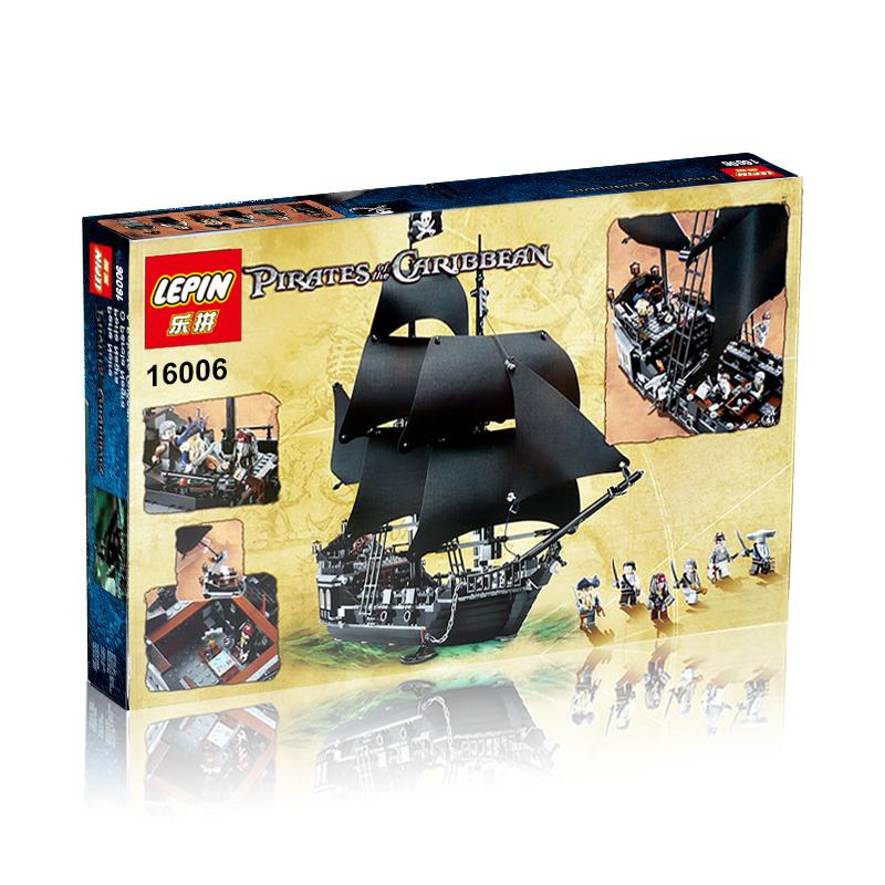 804+ PCS Building Bricks, LP 16006 Building Blocks CPirates of the Caribbean 4184 The Black Pearl.