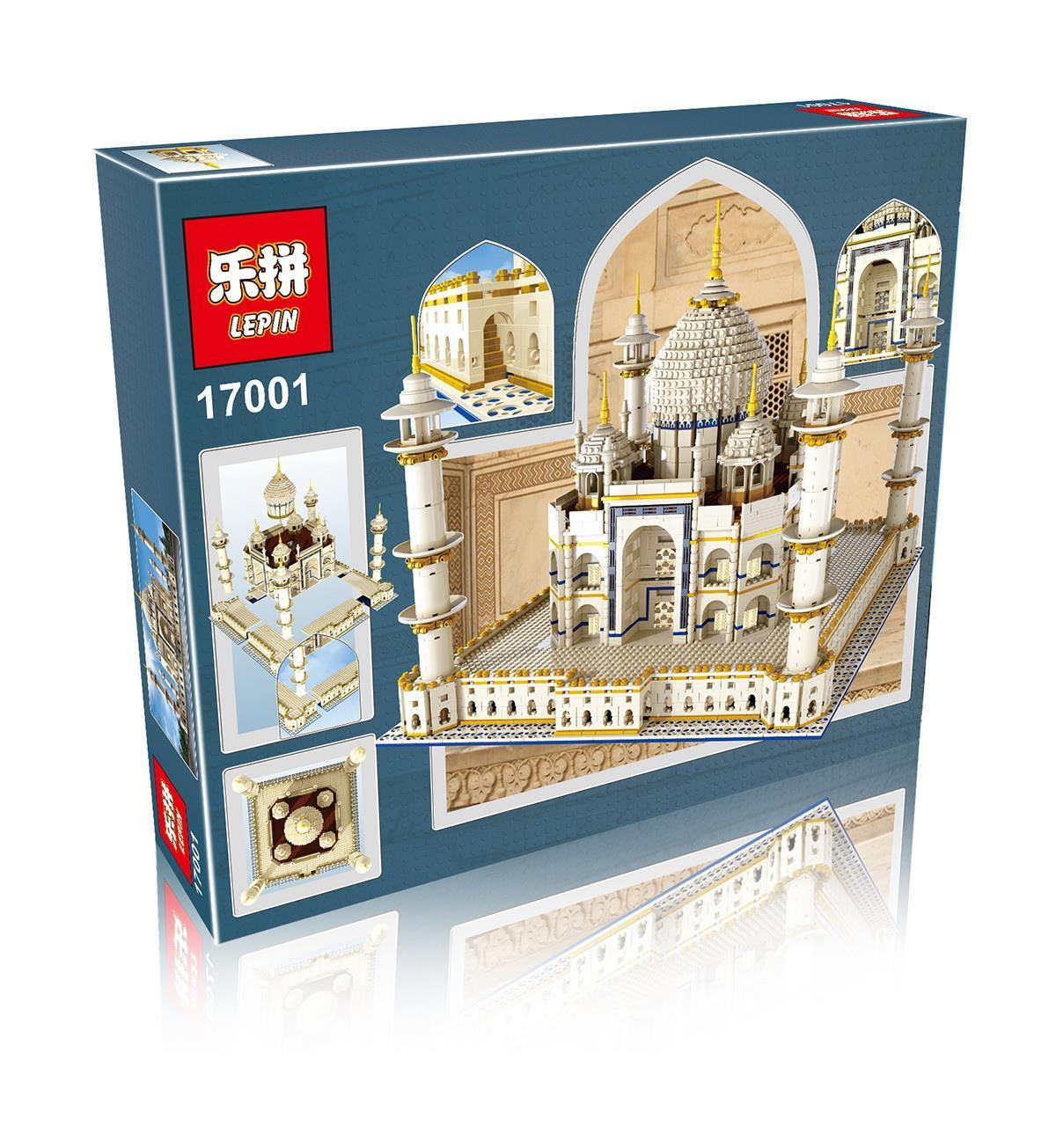 5952+ PCS Building Bricks, LP 17001 Building Blocks Creator 10189 Taj Mahal Model.