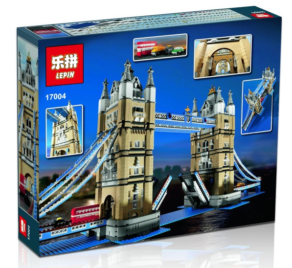 4295+ PCS Building Bricks, LP 17004 Building Blocks Creator 10251 Brick Bank.
