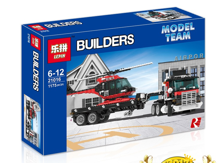 1175+ PCS Building Bricks, LP 21016 Building Blocks 5590 Whirl and Wheel Super Truck.