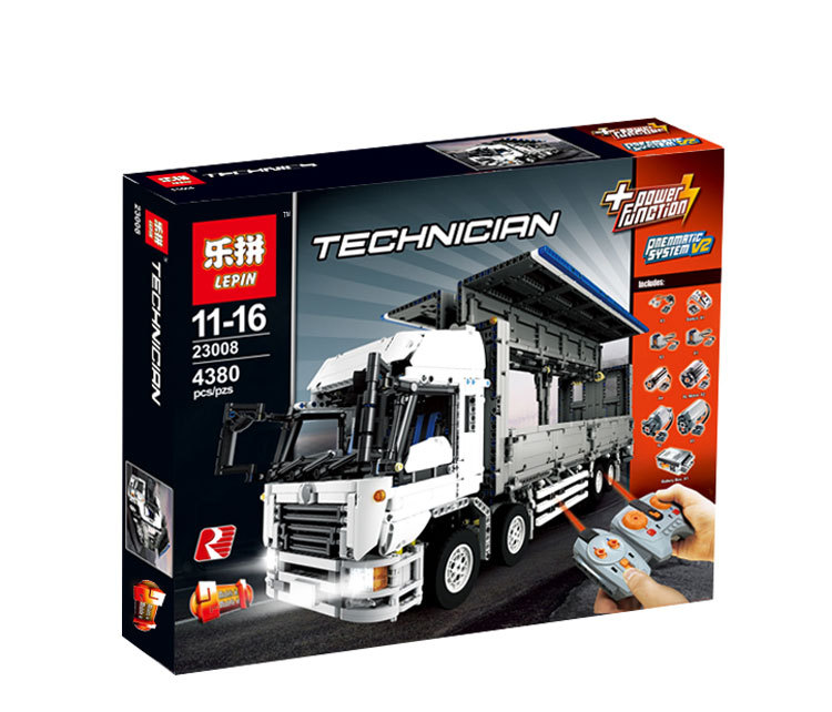 4380+ PCS Building Bricks, LP 23008 Building Blocks Technic MOC Wing Body Truck.