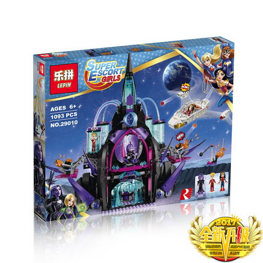 1093+ PCS Building Bricks, LP 29010 Building Blocks Super Hero Girls 41239 Eclipso Dark Palace.
