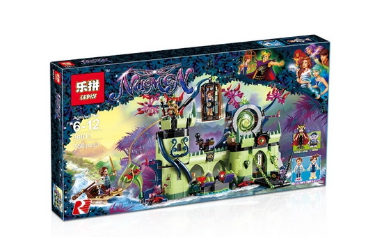 750+ PCS Building Bricks, LP 30011 Building Blocks Elves 41188 Breakout from the Goblin King's Fortress.
