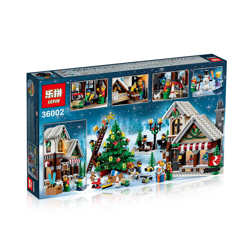 1005+ PCS Building Bricks, LP 36002 Building Blocks Creator 10249 Winter Toy Shop.