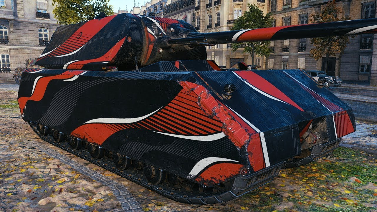 AMX M4 54 - BIG BROTHER - World of Tanks Gameplay