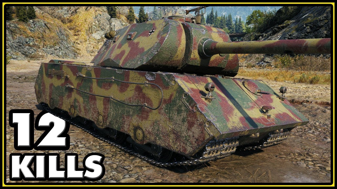 50TP - RUTHLESS - World of Tanks Gameplay