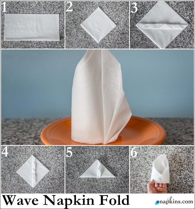 how to make table napkin designs