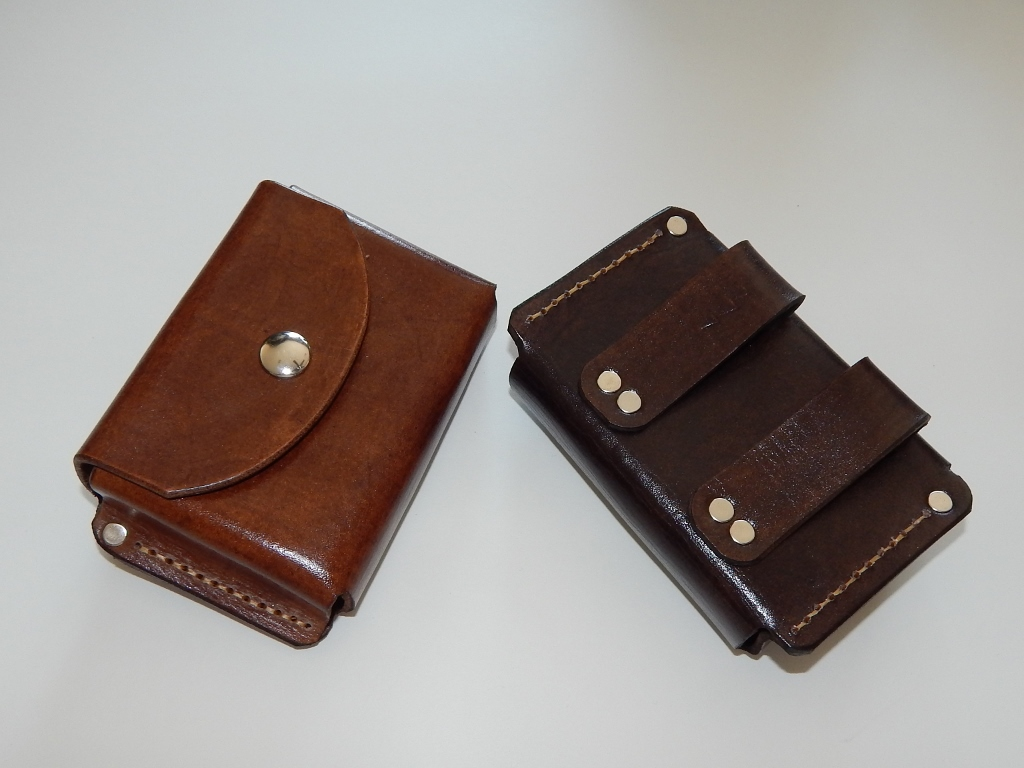 Leather Altoids pouch