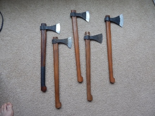 Viking Axe assortment with black scale