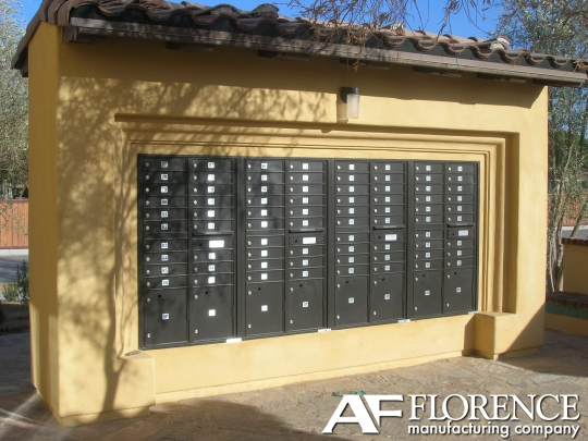 Cluster Mailboxes Gray