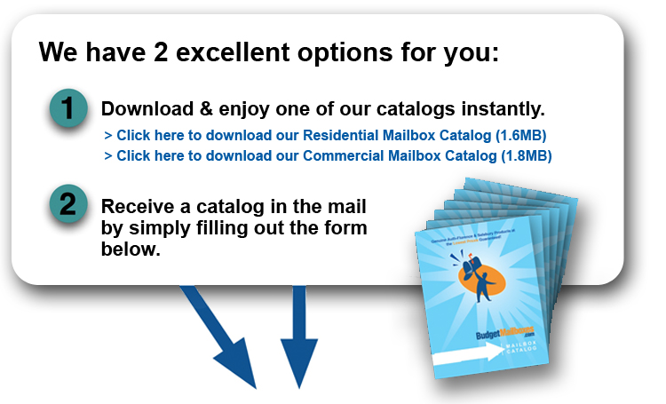 Residential and Commercial Mailbox Catalogs