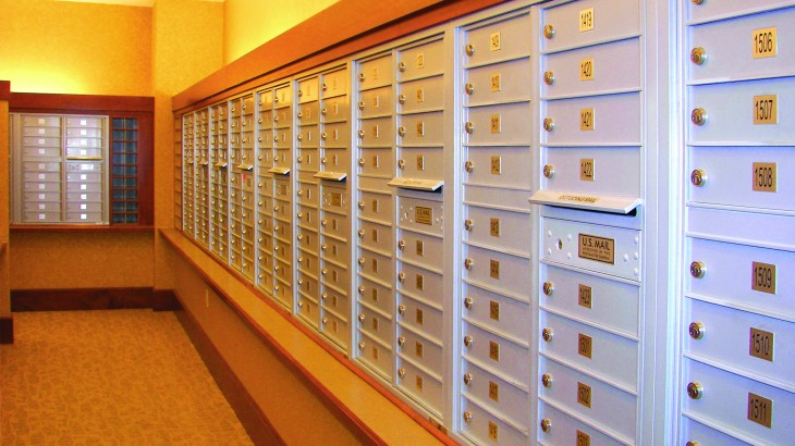 Indoor Apartment Mailboxes