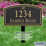 Commercial Address Plaques
