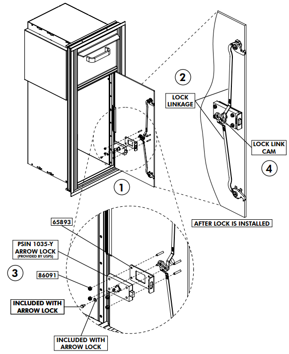 Auth Florence 4c Horizontal Mailbox Installation Manual