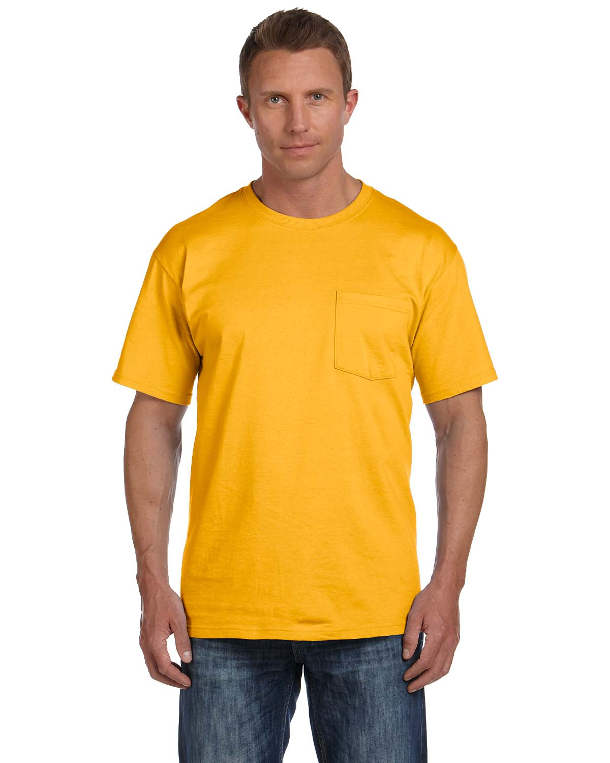 6bd939a2 Fruit of the Loom-5 oz- 100% Heavy Cotton HD Pocket T-Shirt -3931P|ClothingnApparel