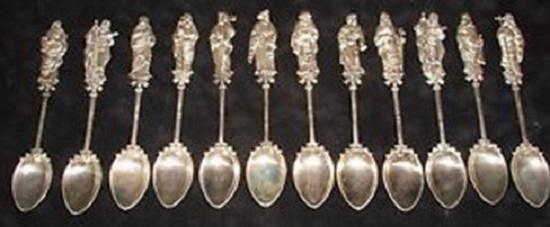 The Twelve Apostles Demitasse Spoons