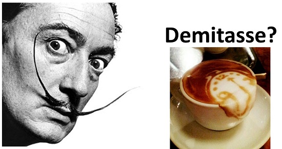 Where Are the Demitasse Spoons? (Salvador Dali)