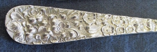 An Extremely Ornate Spoon Handle