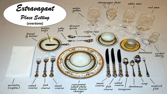 An Overdone Place Setting