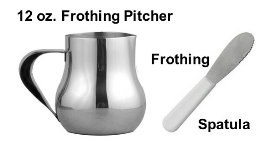 Use a Frothing Spatula to Pull-Forward or Hold-Back the Froth