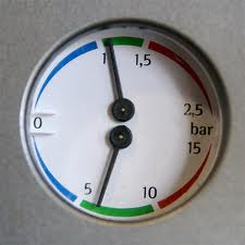 The Pressure Gauges on the Front Panel
