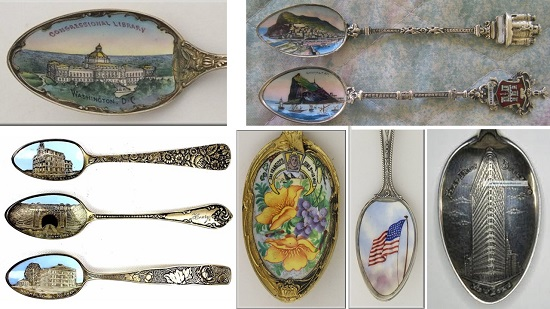 Collectible Souvenir Demitasse Spoons