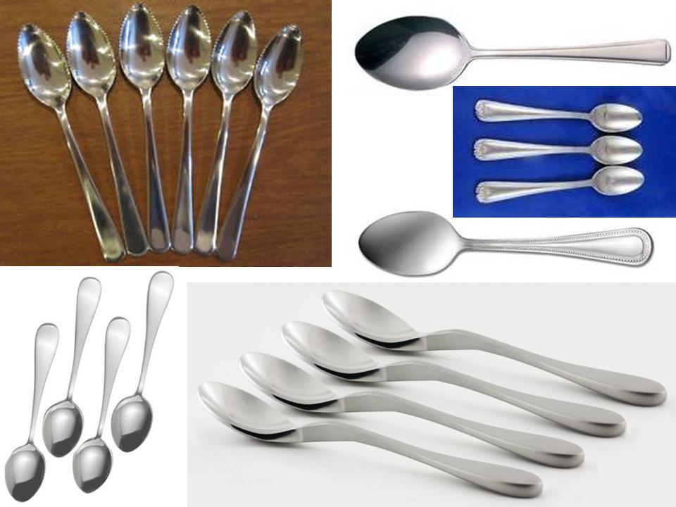 Demitasse Spoons that are 18/0 Stainless Steel (Personal & Restaurant Use)