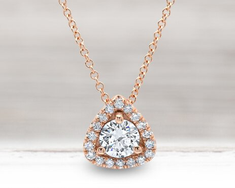 Diamond Necklaces and Pendants