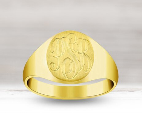 Signet Rings at deBebians