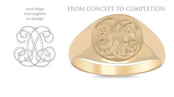 Custom Signet Rings