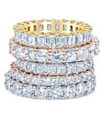 Diamond Eternity Rings