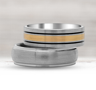 Men's Titanium Wedding Rings