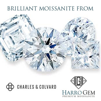 Forever One Moissanite & Harro Gem Moissanite