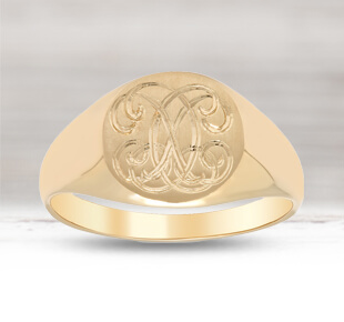 Custom Gold Signet Rings