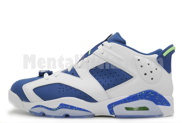 f365c2edcffbf8 Mentalkicks.com - nike air jordan 6 retro low insignia blue 304401-106