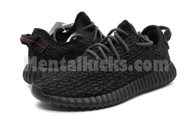 0c470cb293bc1 Adidas Yeezy Boost 350 Pirate Black BB5350 US 9 In stock ship From ...